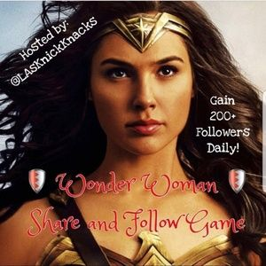FEATURED TODAY-WONDER WOMAN FOLLOW GAME